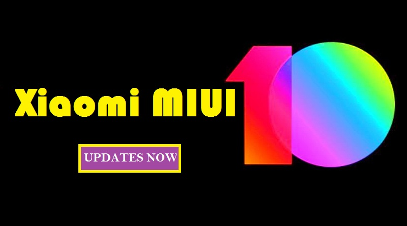 Xiaomi MIUI 10 smartphone