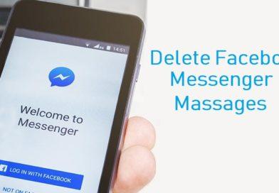 Delete Facebook Messenger Massages